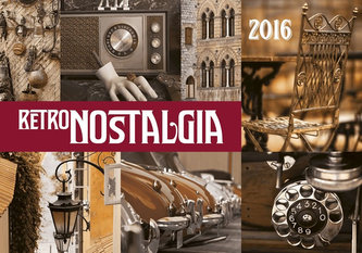 Kalendář nástěnný 2016 - Retro Nostalgia