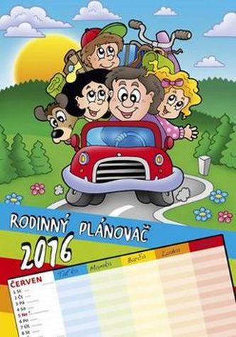 Kalendář nástěnný 2016 - Rodinný plánovač  D