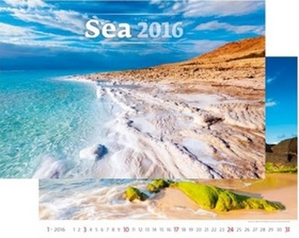 Kalendář nástěnný 2016 - Sea