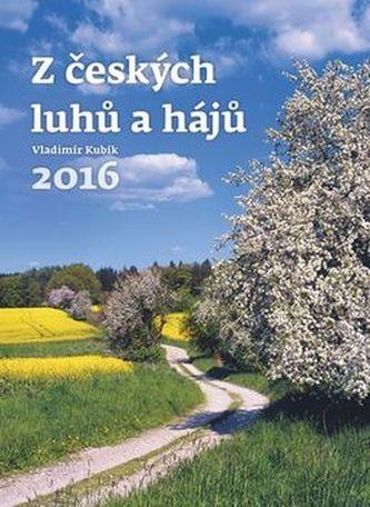Kalendář nástěnný 2016 - Z českých luhů a hájů