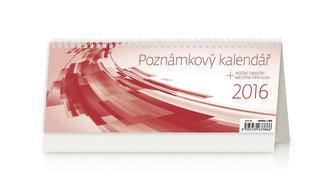 Kalendář stolní 2016 - Poznámkový kalendář OFFICE