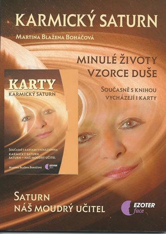 Karmický Saturn (kniha + karty 27 ks) - Martina Blažena Boháčová