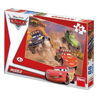 Auta Závodníci - puzzle 66 dílků