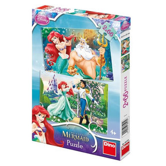Ariel - puzzle 2x66x dílků
