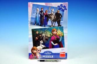 Ledové království - puzzle 2x66 dílků