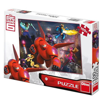 Big Hero 6 - puzzle 100 XL dílků