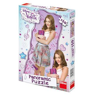 Violetta - panoramic puzzle 150 dílků