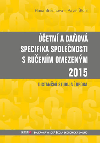 Účetní a daňová specifika s.r.o. 2015