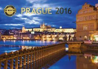Kalendář 2016 - Praha - 18měsíční 30 x 21 cm
