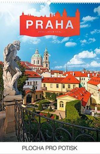 Kalendář 2016 - Praha Jakub Kasl Praktik 33 x 46 cm