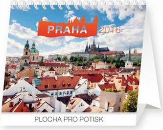 Kalendář 2016 - Praha Praktik 16,5 x 13 cm