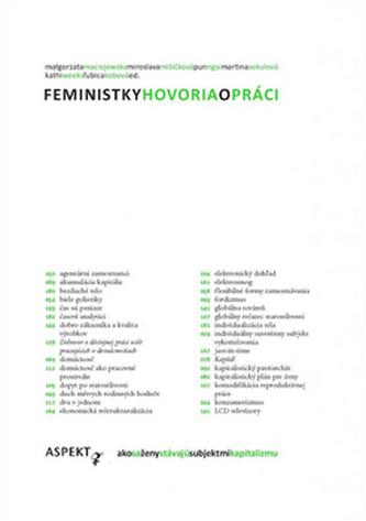 Feministky hovoria o práci