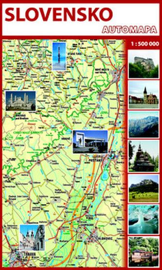 Automapa Slovensko 1 : 500 000