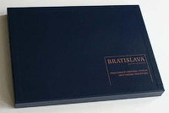 Mapa Bratislava - minulosť a budúcnosť