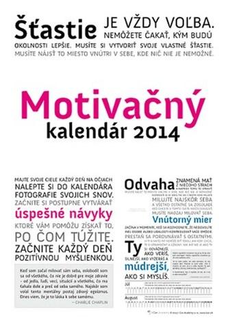 Motivačný kalendár 2014