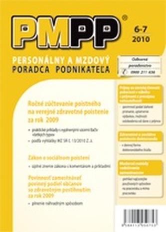 PMPP 6-7/2010 Ročné zúčtovanie poistného na verejné zdravotné poistenie za rok 2009