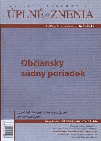 UZZ 49/2011 Občiansky súdny poriadok