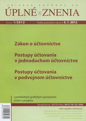 UZZ 1/2012 Zákon o účtovníctve