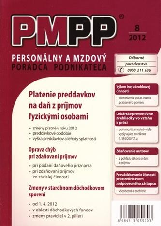 PMPP 8/2012 Platenie preddavkov na daň z príjmov fyzickými osobami