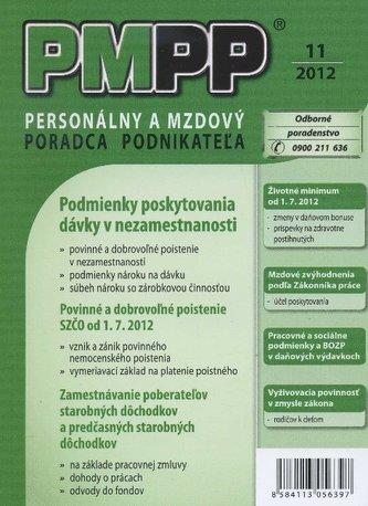 PMPP 11/2012 Podmienky poskytovania dávky v nezamestnanosti