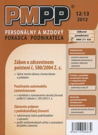 PMPP 12-13/2012 Zákon o zdravotnom poistení č. 580/2004 Z. z.