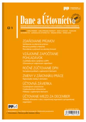 Dane a Účtovníctvo 1/2013