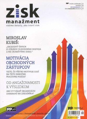 Zisk manažment 1/2014