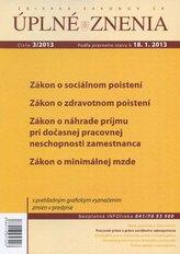 UZZ 3/2013 Zákon o sociálnom poistení