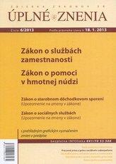 UZZ 6/2013 Zákon o službách zamestnanosti