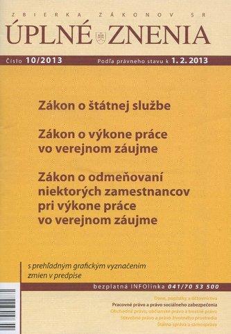 UZZ 10/2013 Zákon o štátnej službe