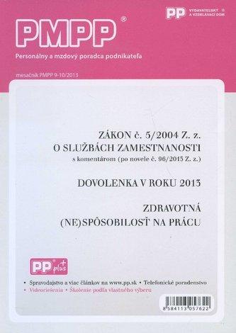 PMPP 9-10/2013 Zákon č. 5/2004 Z. z. o službách zamestnanosti