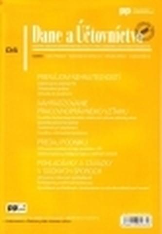 Dane a Účtovníctvo 6/2013