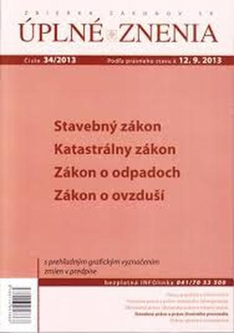 UZZ 34/2013 Stavebný zákon