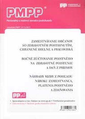 PMPP14-15/2013 Zamestnavanie občanov so zdravotným postihnutím, chránené dielne a pracoviská