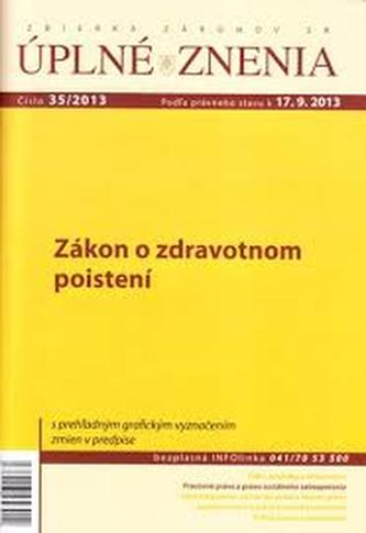 UZZ 35/2013 Zákon o zdravotnom poistení