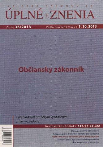 UZZ 36/2013 Občiansky zákonník