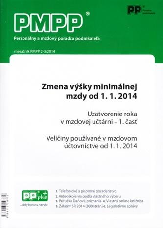 PMPP 2-3/2014 Zmena výšky minimálnej vzdy od 1.1.2014