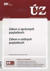 UZZ 2/2014 Zákon o správnych poplatkoch