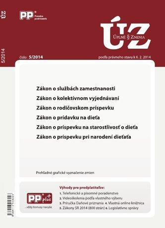 UZZ 5/2014 zákon o službách zamestnanosti