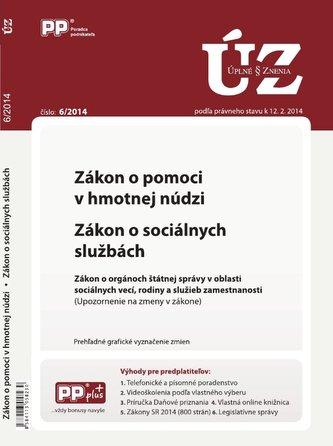 UZZ 6/2014 zákon o pomoci v hmotnej núdzi