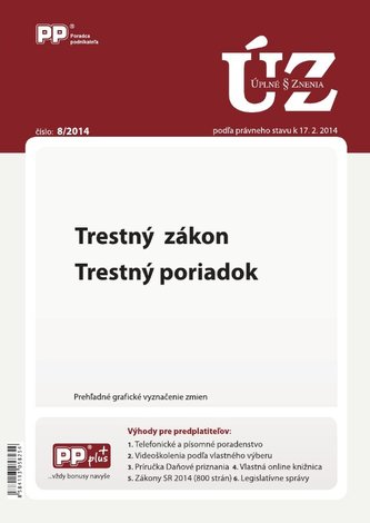 UZZ 8/2014 Trestný zákon