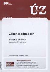 UZZ 10/2014 Zákon o odpadoch