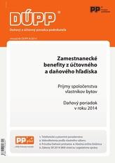 DUPP 9/2014 Zamestnanecké benefity z účtovného a daňového hľadiska