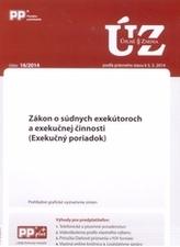 UZZ 16/2014 Zákon o súdnych exekútoroch a exekučnej činnosti