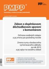 PMPP 9-10/2014 Zákon o doplnkovom dôchodkovom sporení s komentárom