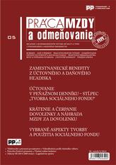Práca, mzdy a odmeňovanie 5/2014