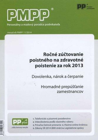 PMPP 11/2014 Ročné zúčtovanie poistného na zdravotné poistenie za rok 2013