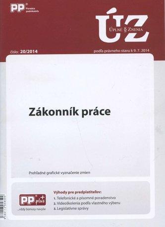 UZZ 20/2014 Zákonník práce