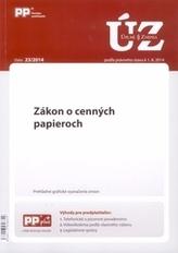 UZZ 23/2014 Zákon o cenných papieroch