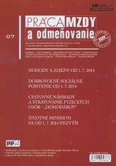 Práca, mzdy a odmeňovanie 7/2014